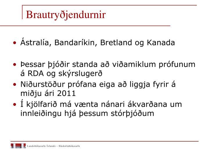 Brautryðjendurnir