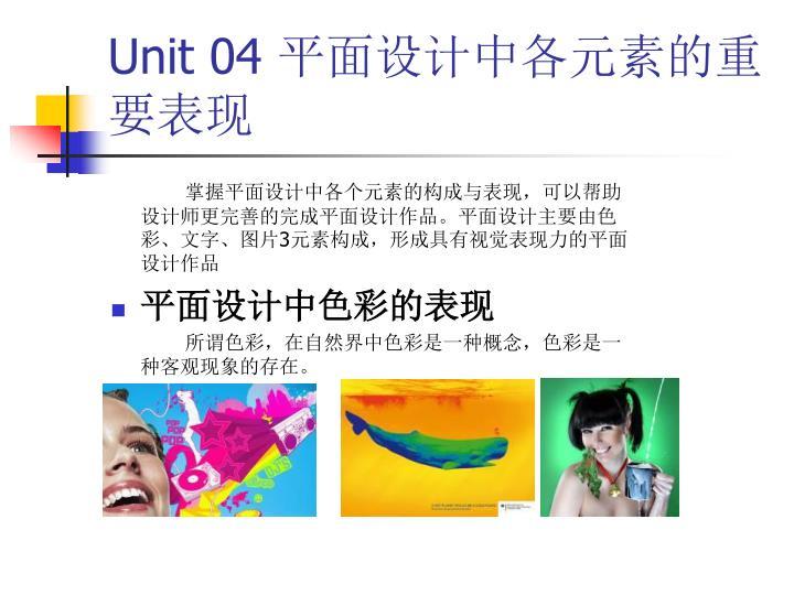 Unit 04