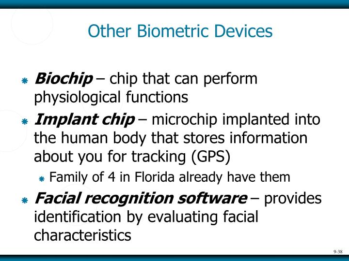 Other Biometric Devices