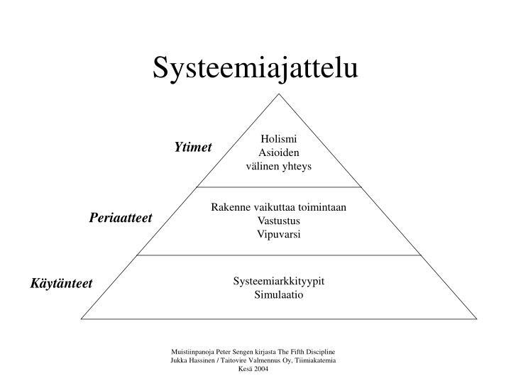 Systeemiajattelu