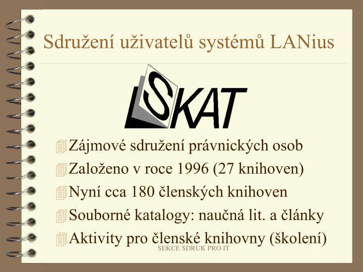 Sdružení uživatelů systémů LANius