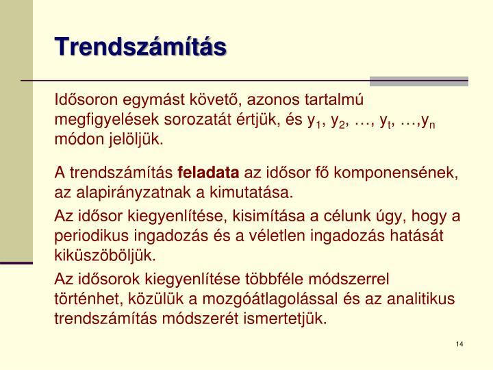 Trendszámítás