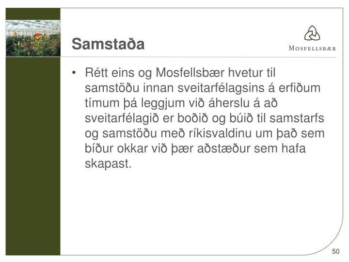 Samstaða