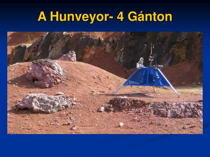 A Hunveyor- 4 Gánton