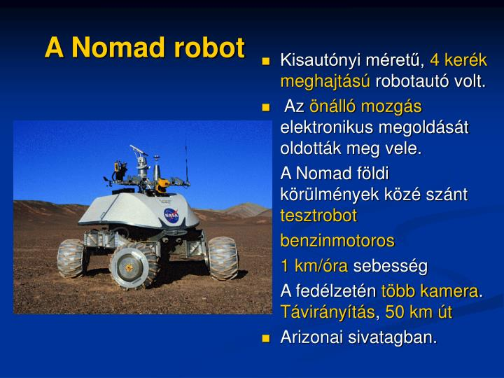 A Nomad robot