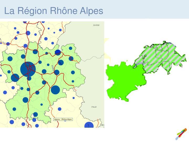 La Région Rhône Alpes
