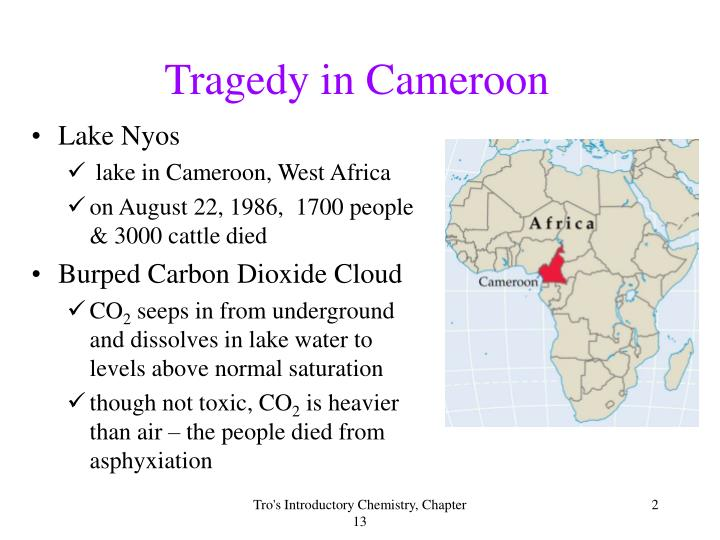 Tragedy in cameroon