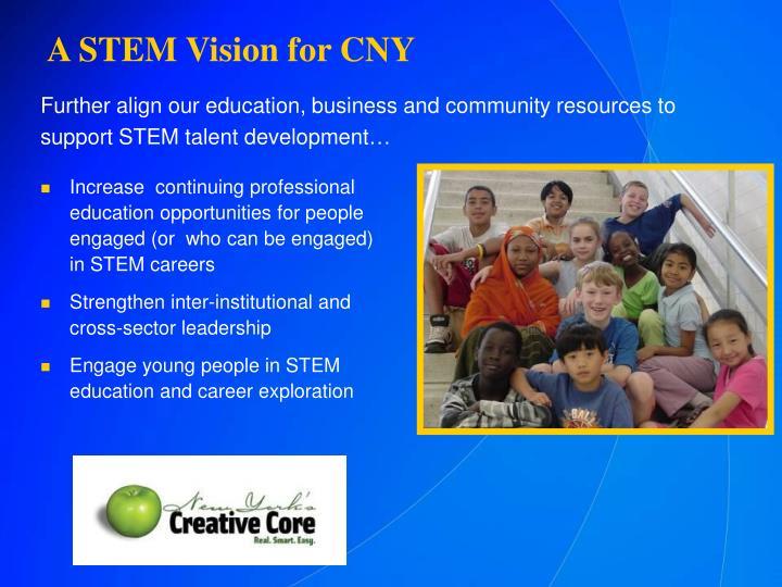 A STEM Vision for CNY