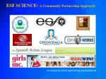 esf science a community partnership approach