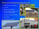 research and demonstration projects