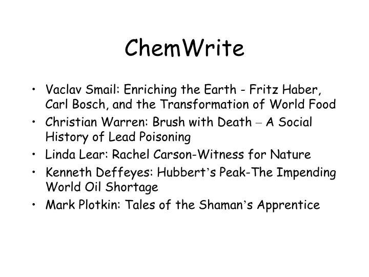 ChemWrite