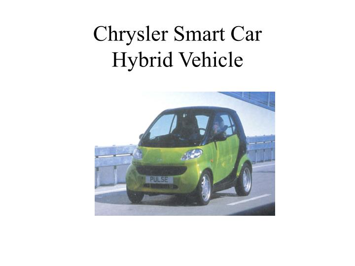 Chrysler Smart Car