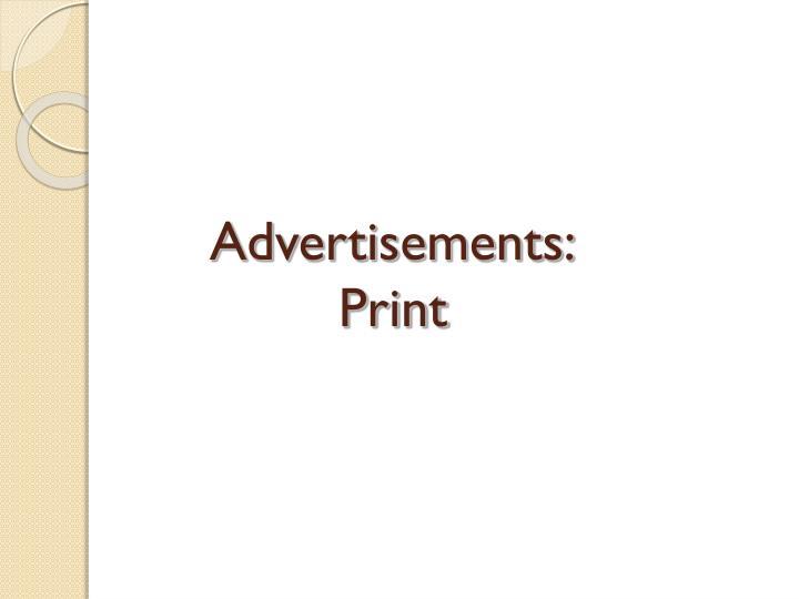 Advertisements: