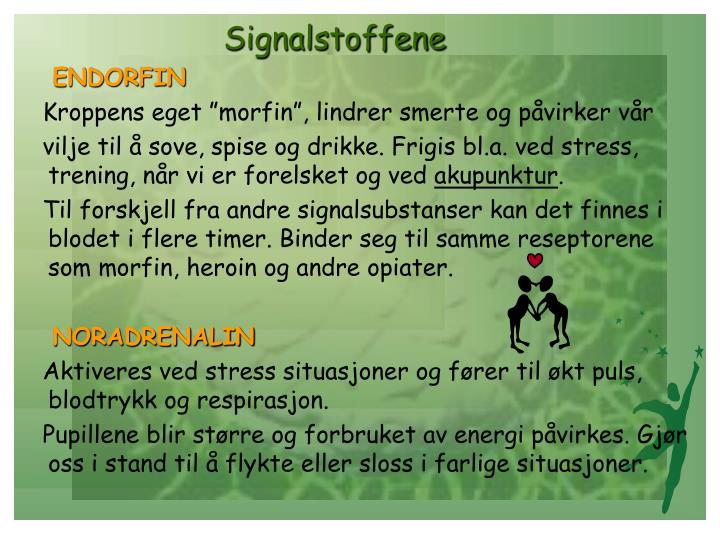 Signalstoffene