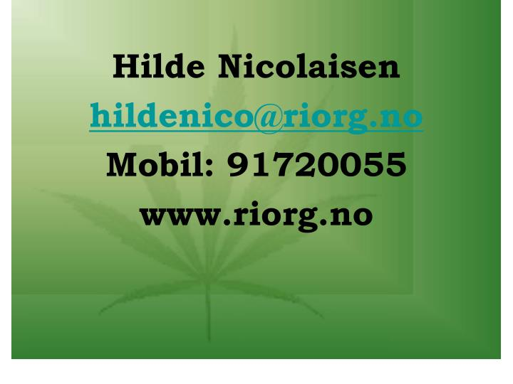 Hilde Nicolaisen