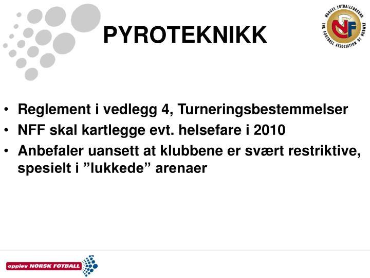 PYROTEKNIKK
