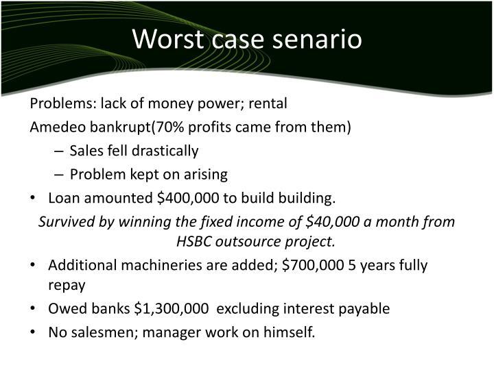 Worst case senario