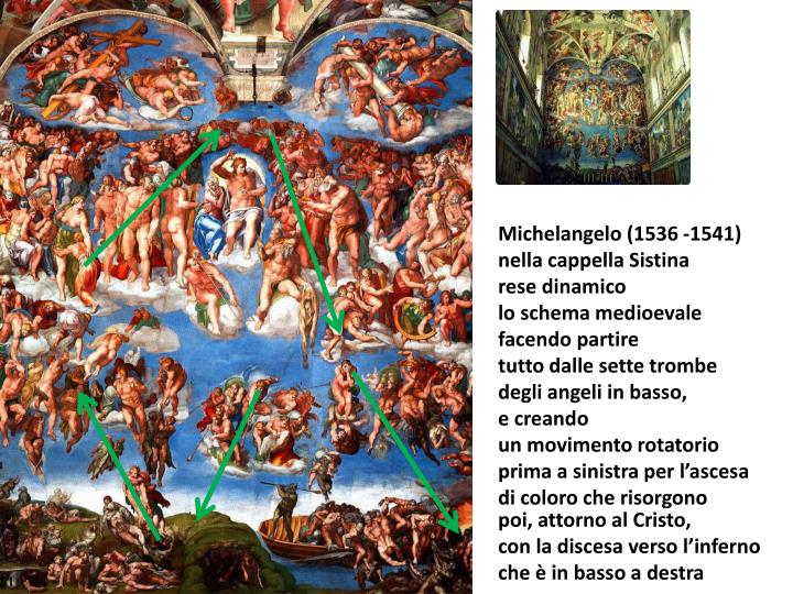 Michelangelo (1536 -1541)