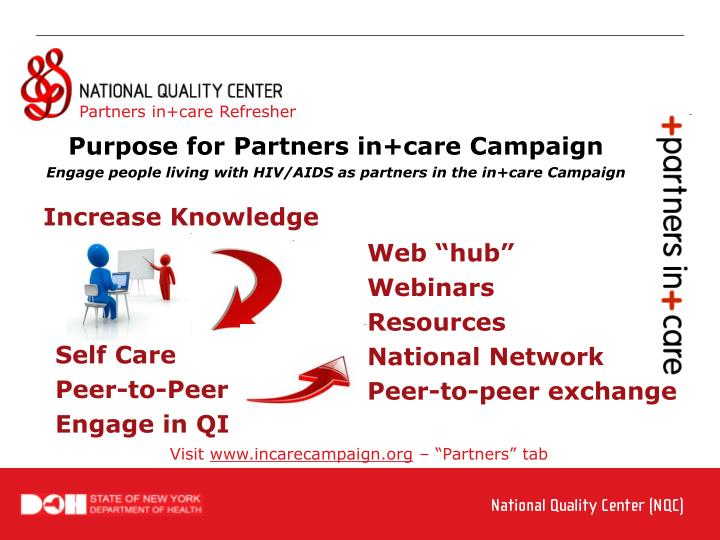 Partners in+care Refresher