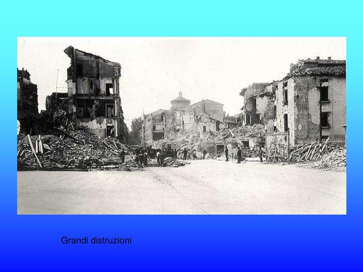 Grandi distruzioni