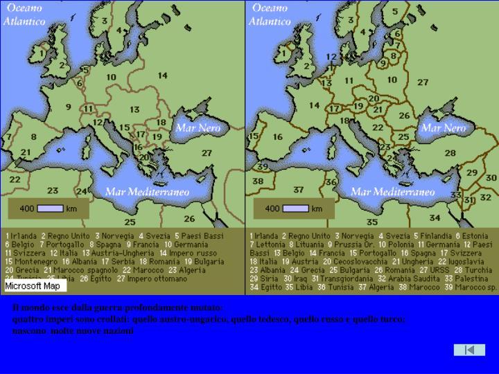 Muta carta Europa