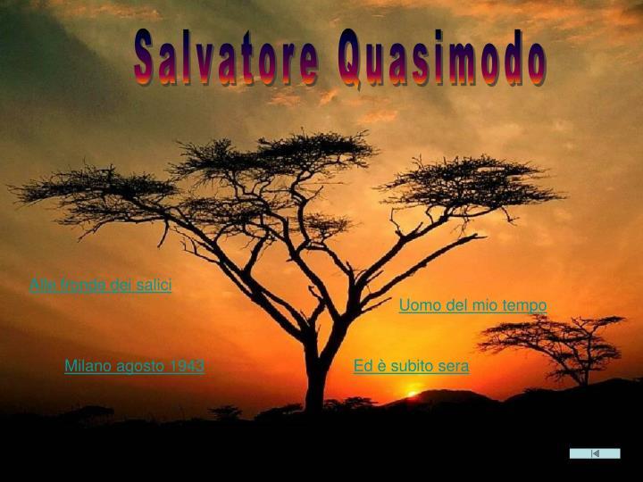 S. QUASIMODO