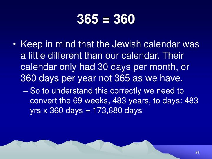 365 = 360