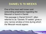 daniel s 70 weeks