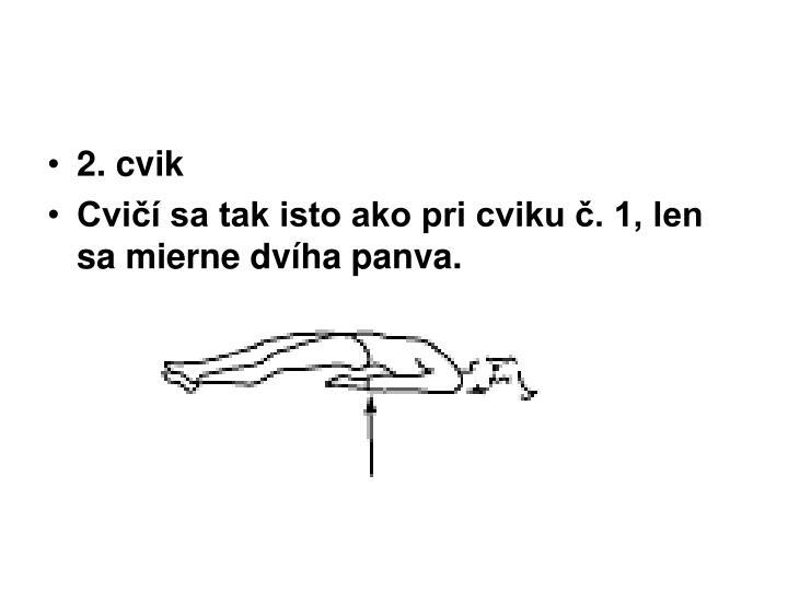 2. cvik
