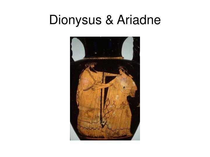 Dionysus & Ariadne