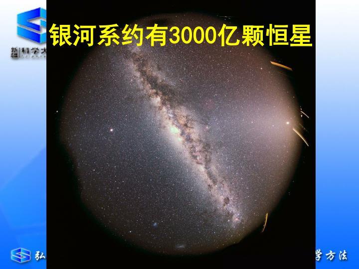 银河系约有