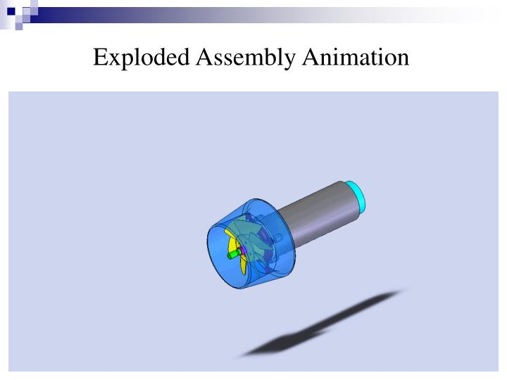 Exploded Assembly Animation