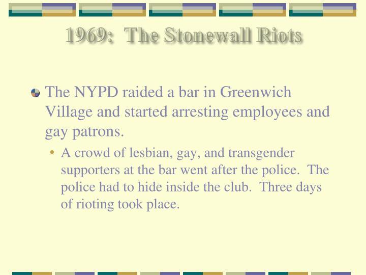 presentation of gay