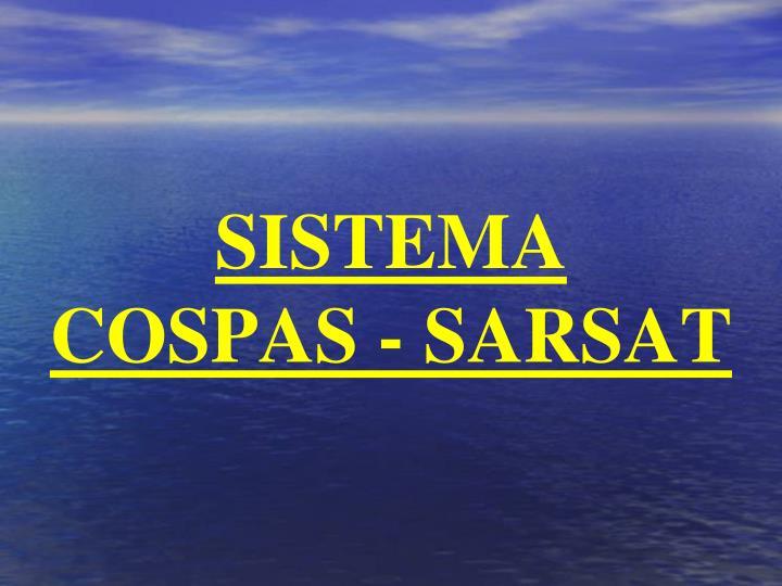SISTEMA       COSPAS - SARSAT