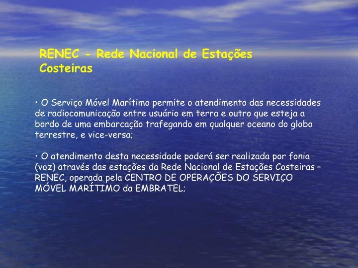 RENEC - Rede Nacional de Estações Costeiras