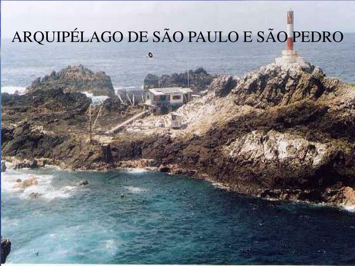 ARQUIPÉLAGO DE SÃO PAULO E SÃO PEDRO
