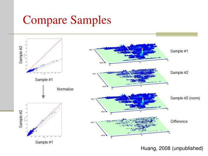 Compare Samples