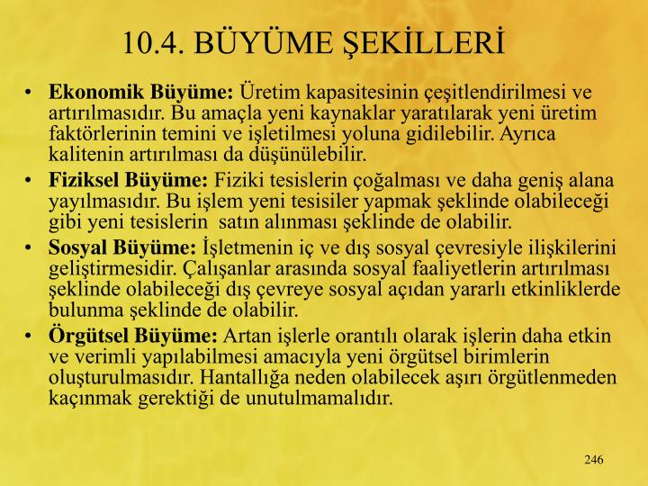 10.4. BYME EKLLER