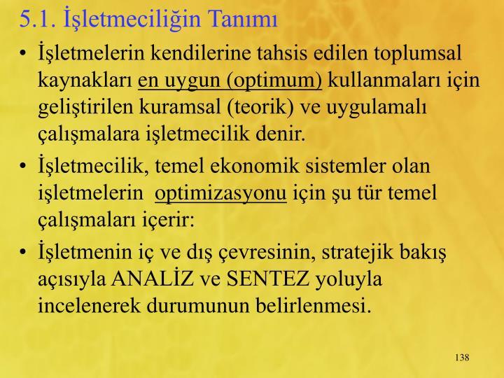 5.1. letmeciliin Tanm