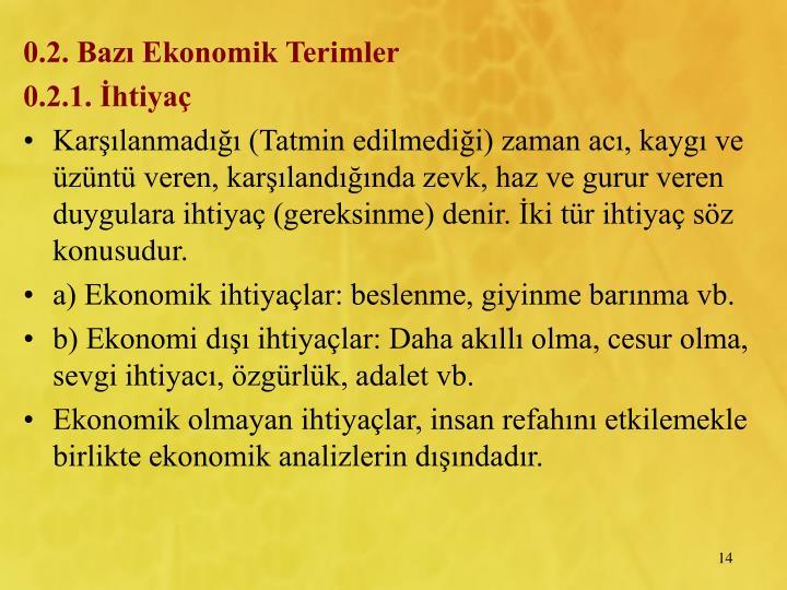 0.2. Baz Ekonomik Terimler