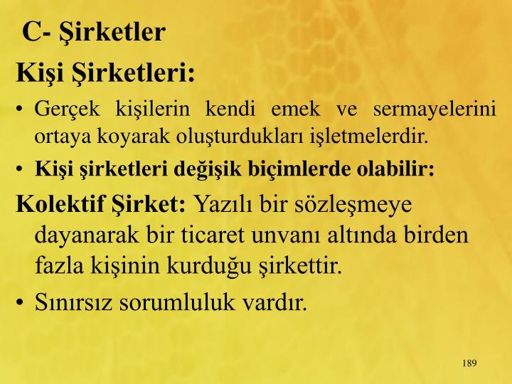 C- irketler