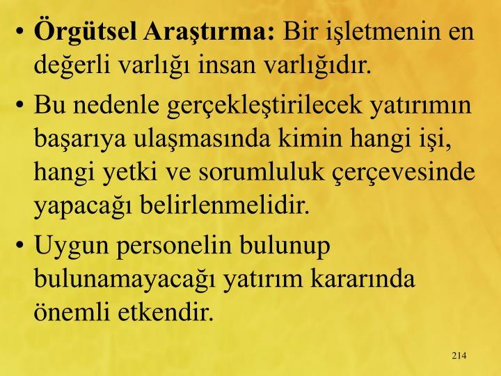rgtsel Aratrma: