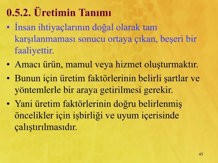 0.5.2. retimin Tanm