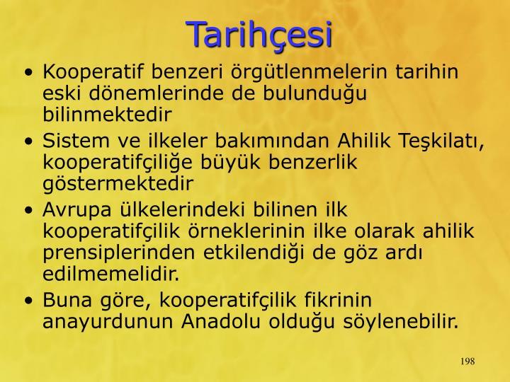 Tarihesi