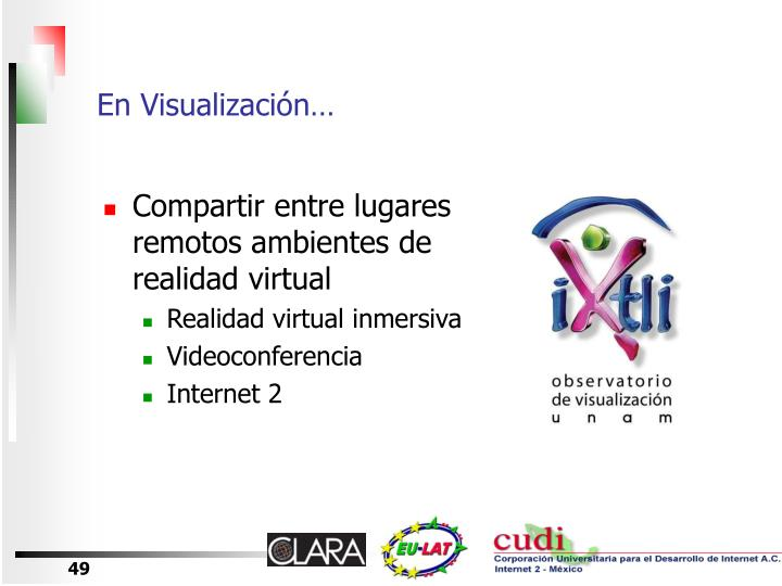 En Visualización…