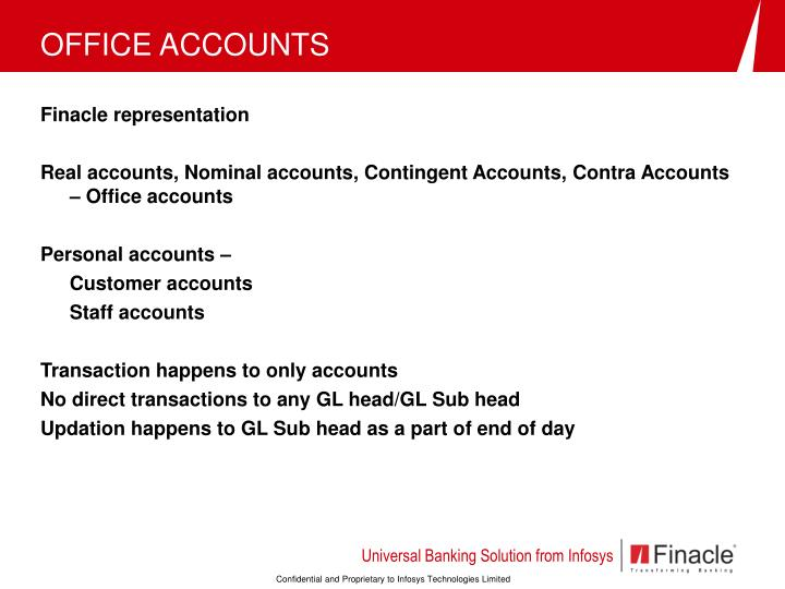 OFFICE ACCOUNTS
