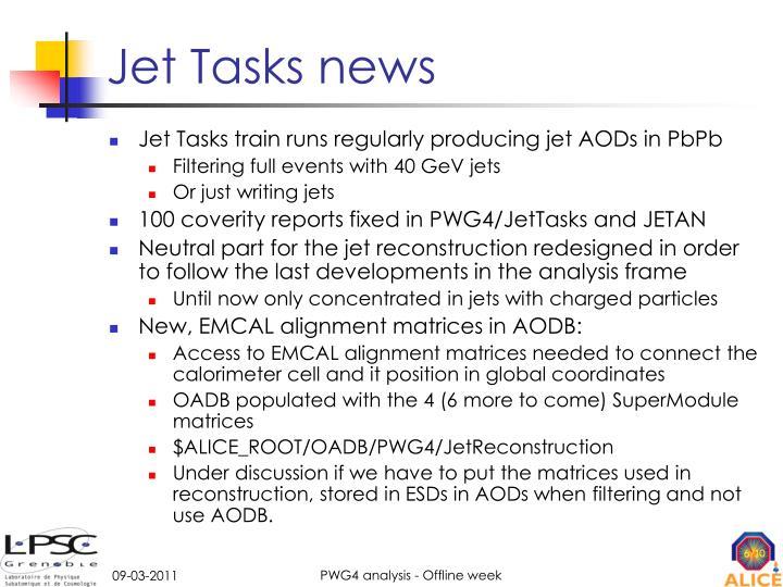 Jet Tasks news