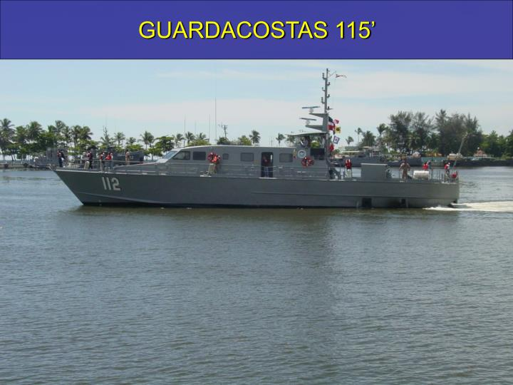 GUARDACOSTAS 115'