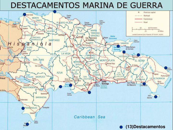 DESTACAMENTOS MARINA DE GUERRA