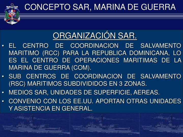 CONCEPTO SAR, MARINA DE GUERRA